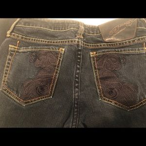 Ed Hardy Jeans Size 26 Blue